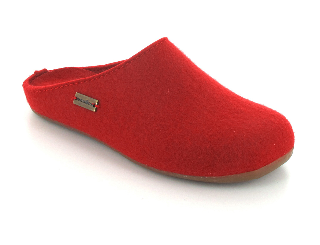 HAFLINGER® Wool Felt Slipper | Everest Fundus, Ruby