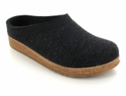 HAFLINGER® Clogs | Grizzly Torben, Charcoal