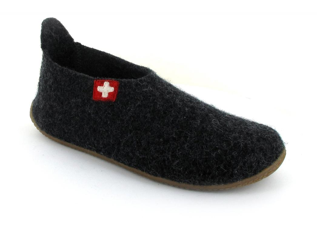 Living Kitzbuehel® Women House Shoes | Bern, Anthracite