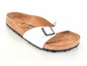 BIRKENSTOCK® Slide Sandal | Madrid, navy blue | Slim Edition